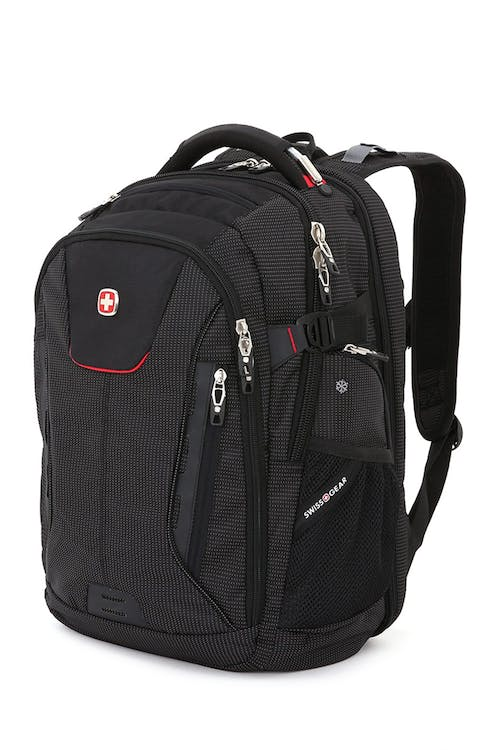 SWISSGEAR 5358 USB Scansmart Backpack - Black/Red