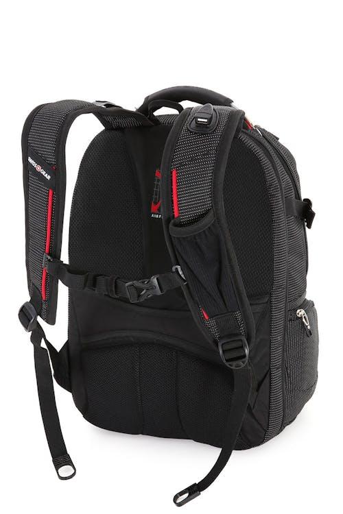 """SWISSGEAR 5358 18.5"""" Scansmart Ergonomically contoured, padded shoulder straps"""
