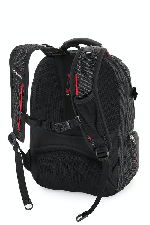 Swissgear 5358 USB ScanSmart Laptop Backpack  Ergonomically contoured, padded shoulder straps