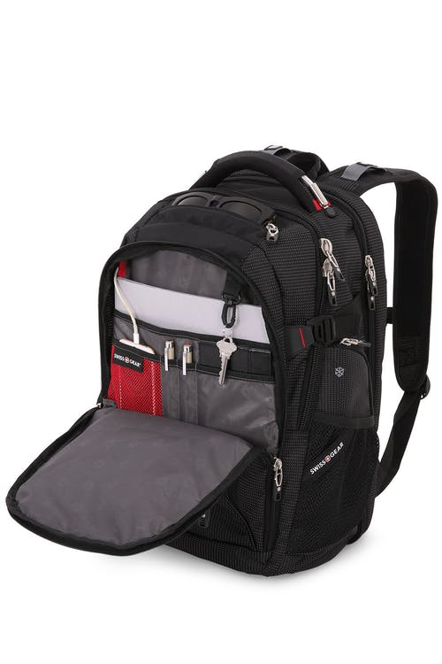 Swissgear 5358 USB ScanSmart Laptop Backpack  Organizer compartment