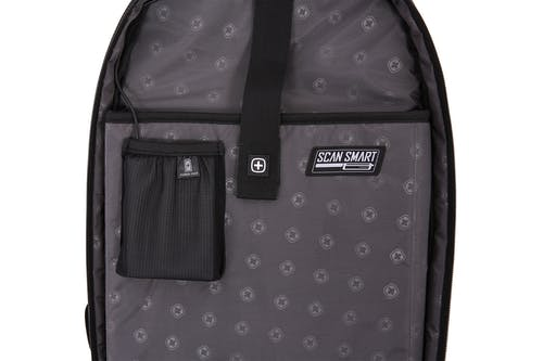 """SWISSGEAR 5358 18.5"""" Scansmart with padded 15"""" computer sleeve and padded tablet pocket"""