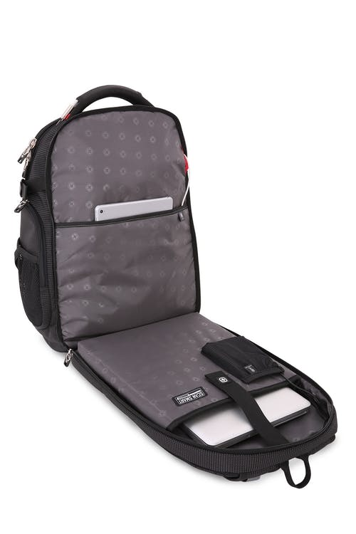 """SWISSGEAR 5358 18.5"""" Scansmart TSA friendly ScanSmart laptop compartment"""