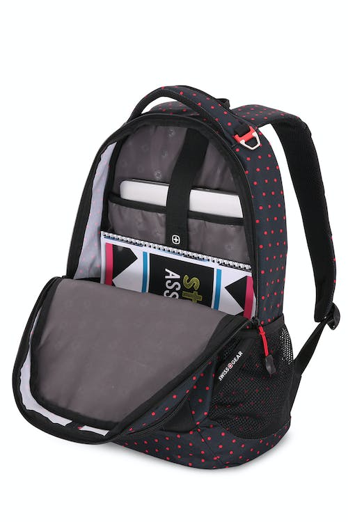 Swissgear 5503 Backpack Large main compartment with built-in padded, laptop sleeve