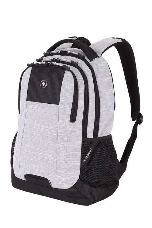 Swissgear 5505 Laptop Backpack - Light Gray Heather/Black - Special Edition