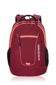 Swissgear 6601 Backpack - Crimson Cover/Unique Coral