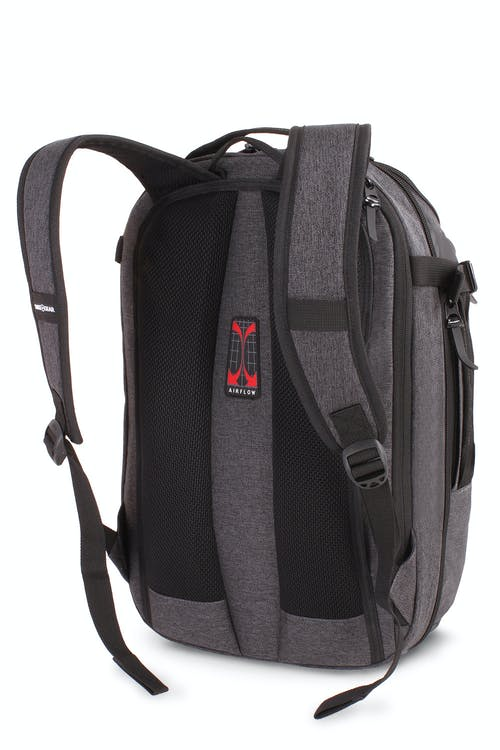 ... Laptop Backpack - Heather Gray. Swissgear 5625 Getaway Weekend Backpack  - Padded shoulder straps f12a959db69dd