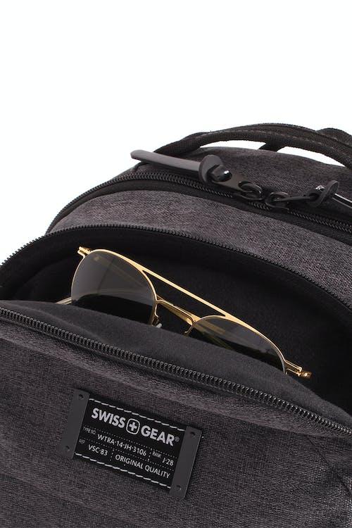 Swissgear 5625 Getaway Weekend Backpack - Top fleece lined quick access pocket