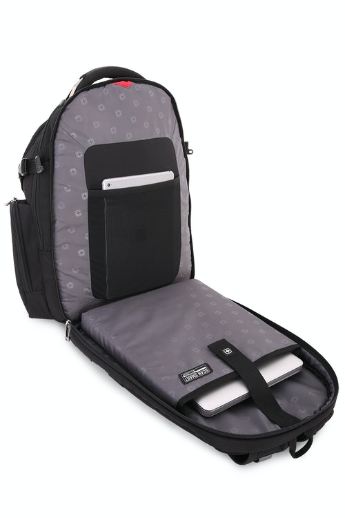 "SWISSGEAR 5709 18.5"" Scansmart TSA friendly ScanSmart laptop compartment"