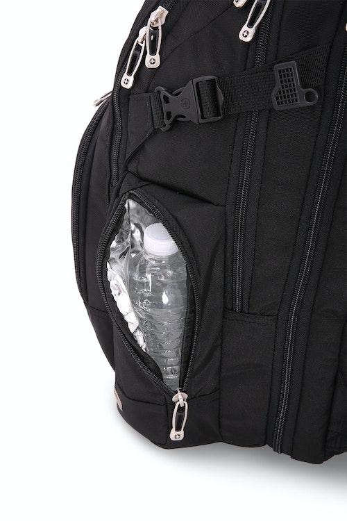 """SWISSGEAR 5709 18.5"""" Scansmart side, thermal water bottle pocket"""