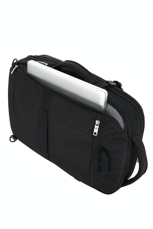 """SWISSGEAR 1900 Travel Backpack Side 17"""" padded laptop compartment"""