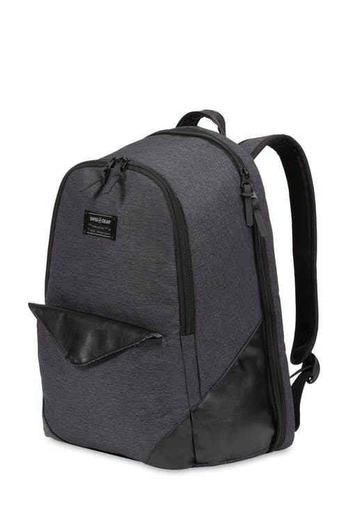 Swissgear 5755 Scansmart Backpack - Dark Gray Heather/Black