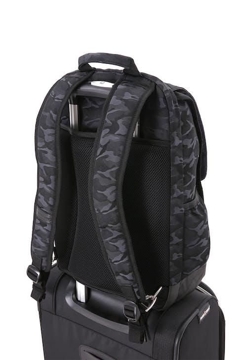 Swissgear 5981 Laptop Backpack add-a-bag strap