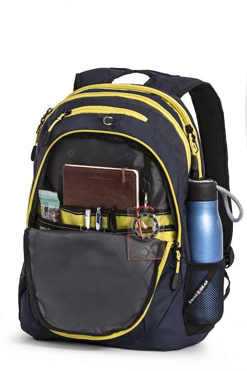 swissgear 5982 laptop backpack noir satin yellow target
