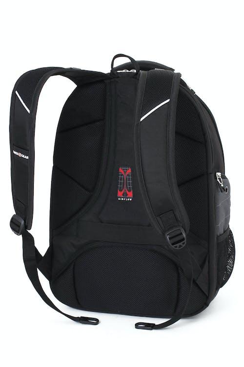 Swissgear 5988 ScanSmart Backpack padded shoulder straps with built-in suspension