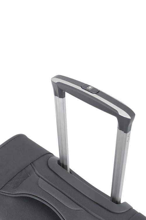 Swissgear 6006 Expandable Liteweight Spinner Luggage Premium, telescopic aluminum locking lift handle