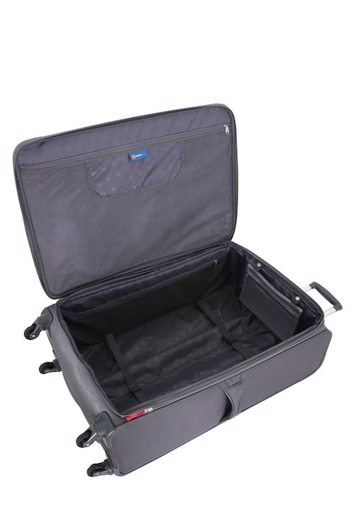"""SWISSGEAR 6006 29"""" Expandable Liteweight Spinner Luggage - Open View"""