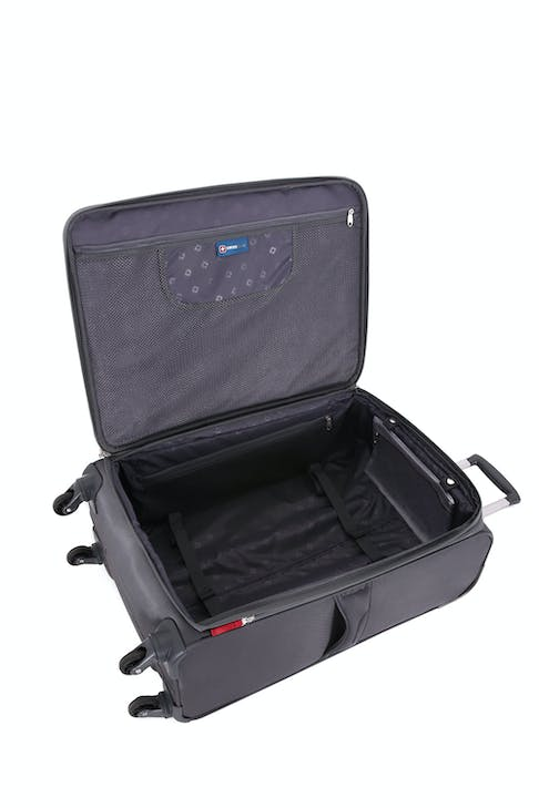 "SWISSGEAR 6006 24"" Expandable Liteweight Spinner Luggage - Open View"