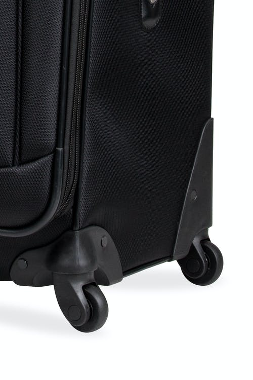 Swissgear 6053 Expandable Luggage 3pc set Four 360-degree, multi-directional spinner wheels
