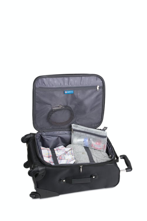 """SWISSGEAR 6053 20"""" Carry-On Luggage - Open View"""