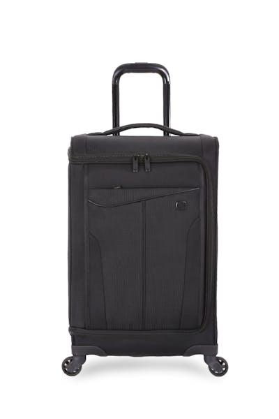 Swissgear 6067 Getaway 2.0 USB Garment Carry On Spinner Luggage - Black