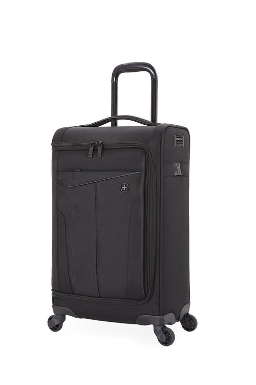 Swissgear 6067 Getaway 2.0 Carry-on Garment w/ USB Spinner Luggage Top grab handle