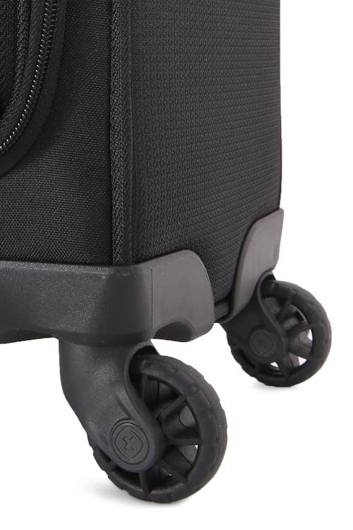 Swissgear 6067 Getaway 2.0 Carry-on/Garment w/ USB Upright Four 360-degree, multi-directional spinner wheels