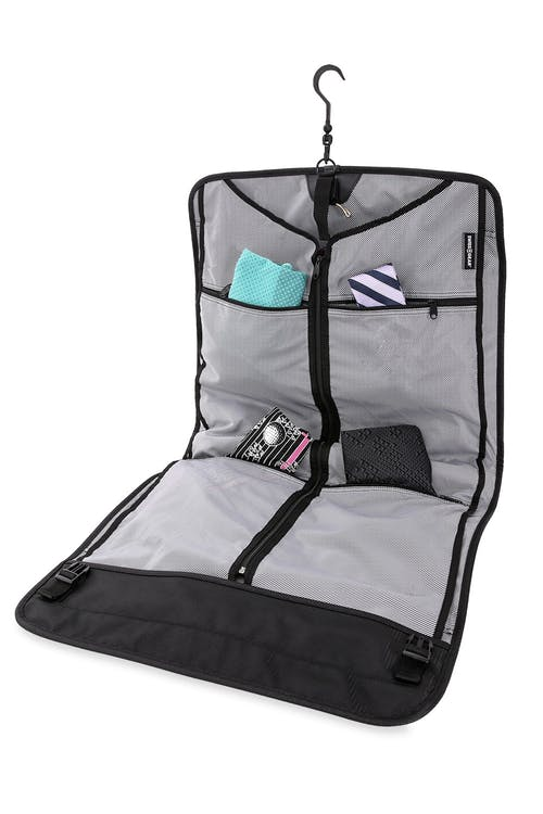 Swissgear 6067 Getaway 2.0 Carry-on Garment Bag Top exterior compartment to store shoes