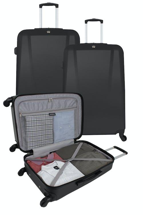 SWISSGEAR 6072 Hardside Spinner Luggage Set - Open View