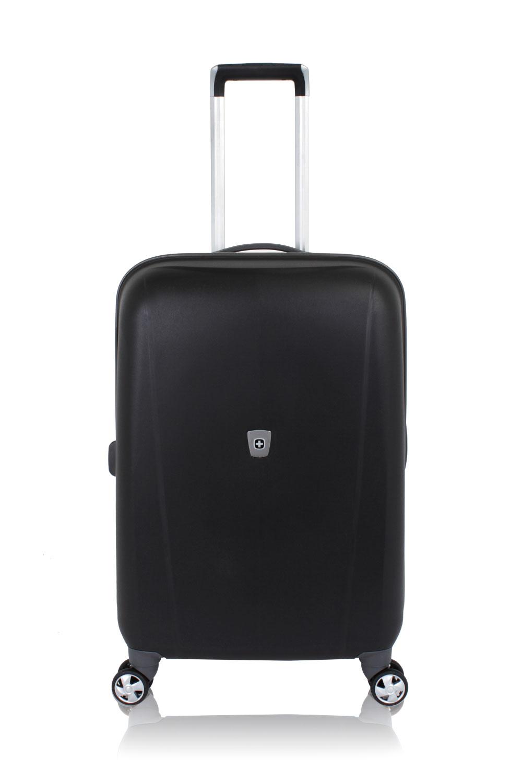 "SWISSGEAR 6150 24"" Hardside Spinner - Black Luggage"