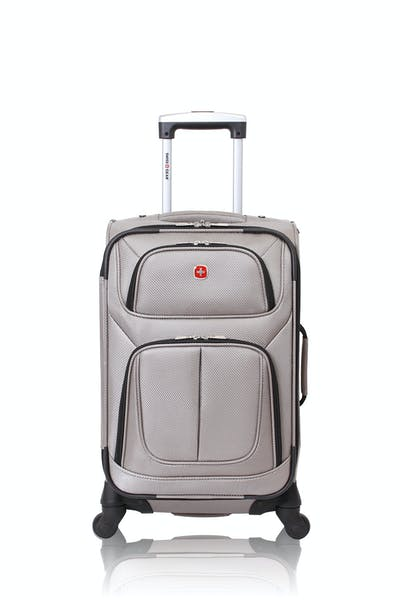 "Swissgear 6283 21"" Expandable Spinner Luggage - Pewter"