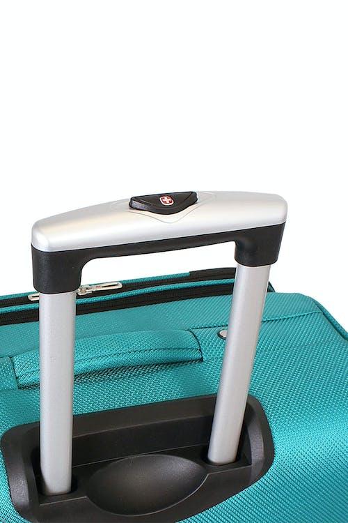 Swissgear 6283 Expandable Spinner Luggage 3pc Set push-button locking telescopic handle