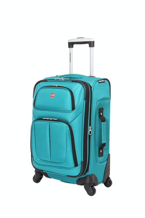 """SWISSGEAR 6283 21"""" EXPANDABLE SPINNER LUGGAGE - TEAL"""