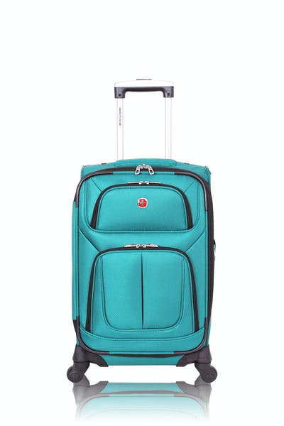 "Swissgear 6283 21"" Expandable Spinner Luggage - Teal"