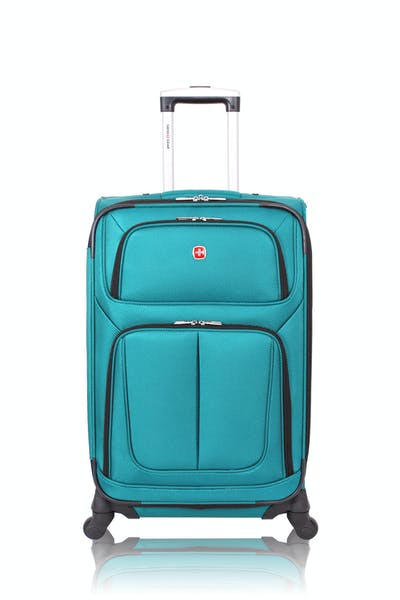"Swissgear 6283 24.5"" Expandable Spinner Luggage - Teal"
