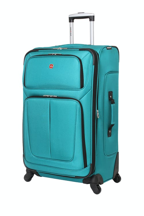 """SWISSGEAR 6283 28"""" EXPANDABLE SPINNER LUGGAGE – TEAL"""