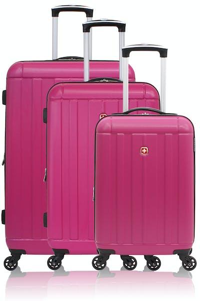 SWISSGEAR 6297 Expandable Hardside Spinner Luggage 3pc set