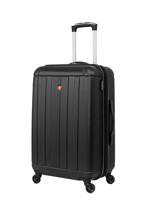 "SWISSGEAR 6297 23"" Expandable Hardside Spinner Luggage in Black"