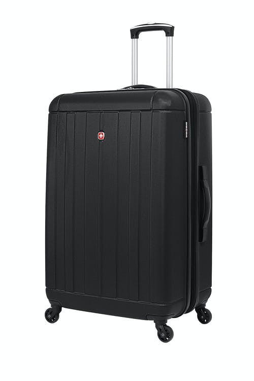 "SWISSGEAR 6297 27"" Expandable Hardside Spinner Luggage in Black"