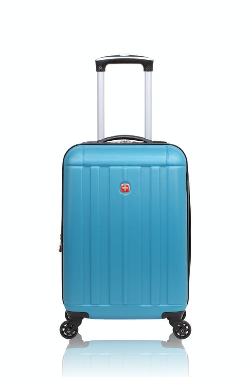 "Swissgear 6297 18"" Expandable Carry On Hardside Spinner Luggage"