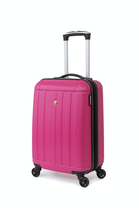 SWISSGEAR 6297 19 Expandable Hardside Spinner - Pink Luggage