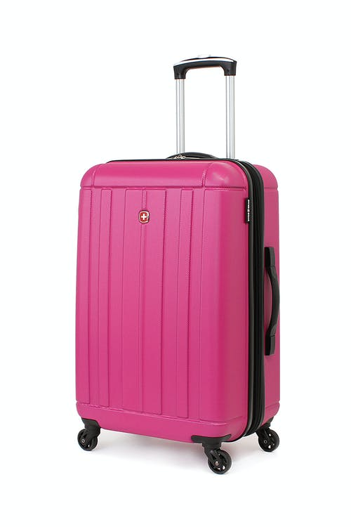 "SWISSGEAR 6297 24"" Hardside Spinner Luggage in Pink"