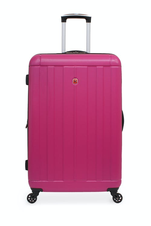 """SWISSGEAR 6297 24"""" Expandable Hardside Spinner Luggage Rugged ABS construction"""
