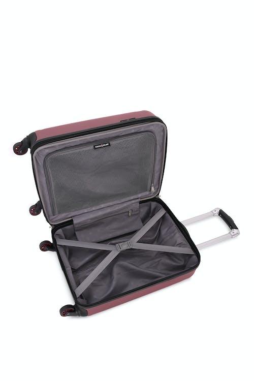 """SWISSGEAR 6302 18.5"""" Hardside Spinner Split case design"""