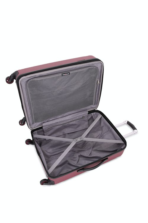 "SWISSGEAR 6302 23"" Expandable Hardside Spinner Luggage Split case design"