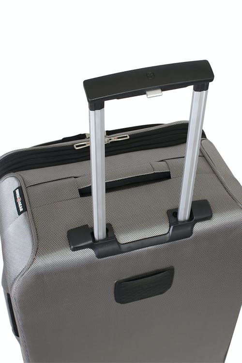 Swissgear 6305 Zurich Expandable Spinner Luggage push-button locking telescopic handle