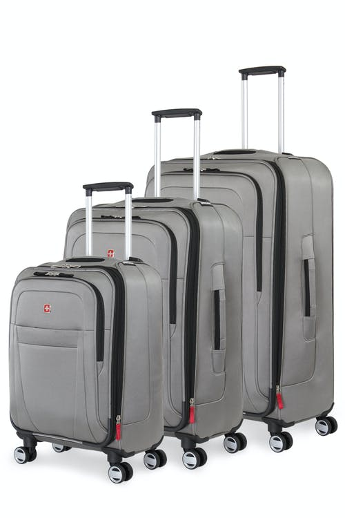 Swissgear 6305 Zurich Expandable Spinner Luggage 3pc Set