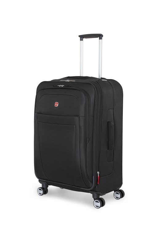"Swissgear 6305 24"" Zurich Expandable Spinner Luggage - Black"
