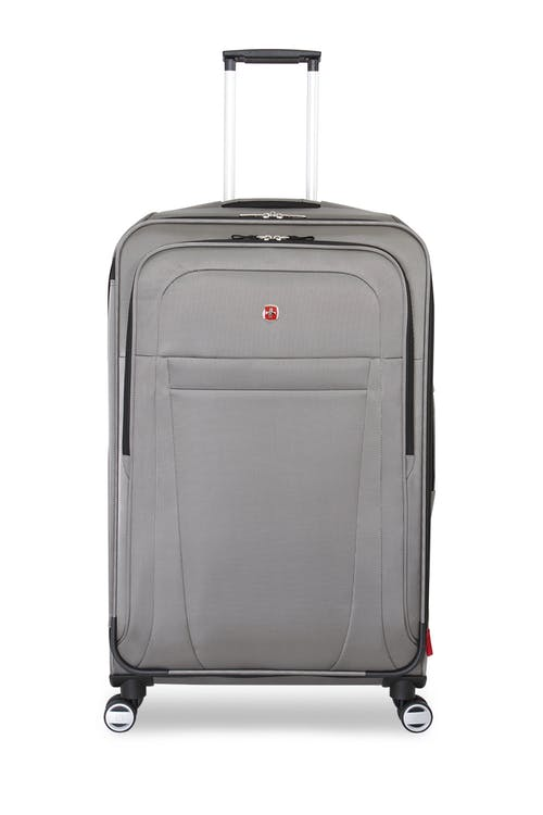 "SwiSwissgear 6305 28"" Zurich Expandable Spinner Luggage Front, zippered pocket"