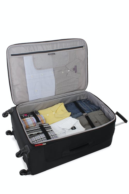 "SWISSGEAR 6320 28"" Expandable Luggage - Open View"