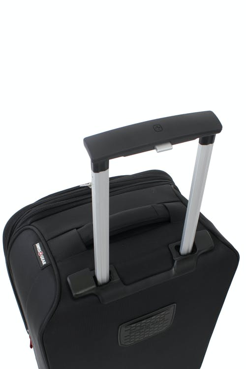Swissgear 6320 Expandable Luggage Deluxe aircraft-aluminum locking handle